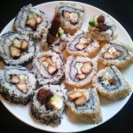 Owrocone sushi czyli cali...