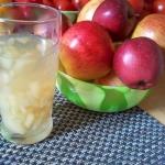 Kompot z jablek, bez cukr...