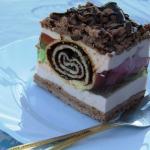 Ciasto Pawi ogon kakaowe....