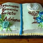 Tort komunijny ksiega.