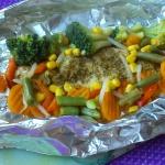 Morszczuk z warzywami...