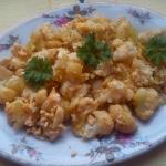 Kalafior z jajkami a la...