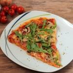 Pizza orkiszowa z rukola ...
