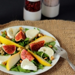Salatka z figami i kozim ...