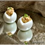 Jajka faszerowane pasta z...