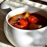 Zupa z pieczonych warzyw ...