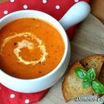 Zupa krem z pomidorow