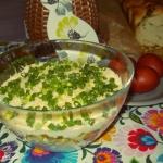 Wiosenna salatka z szynka...
