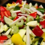 Grillowane warzywa z chru...