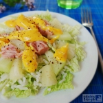 Salatka z melonem, ananas...