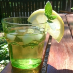 Ziolowa ice tea z lukrecj...