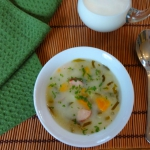 Zupa ogorkowa dla alergik...