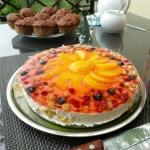 Lekki tort owocowy na zim...