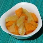 Batat i pieczone jablko (...