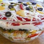 Pikantna salatka gyrosowa...