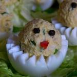 Faszerowane jajka...