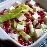 Dietetyczna salatka z ser...