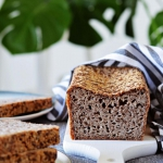 Chleb zkaszy gryczanej...