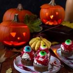 Halloweenowe babeczki z...