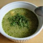 Wiosenna zupa rzeżuchowa