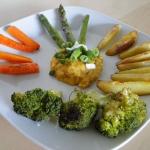 Pieczemy warzywa...
