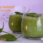 Zielony koktajl na zdrowe...