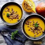 Orientalna zupa dyniowa....