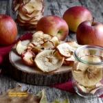 Chipsy z jablek