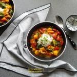 Dyniowe curry z papryką...