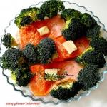 Ryba z brokułem...