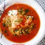 Pomidorowa zupa rybna z...