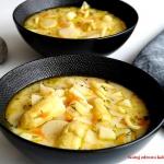 Wiosenna zupa z białymi...
