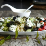 Kritharaki - grecka salat...