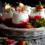 Rabarbarowy deser...