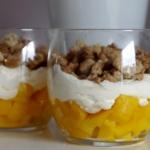 Deser z mango i domową...