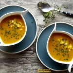 Zupa z dynii i mango....