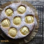 Migdalowe ciasto z jablka...