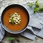Zupa pomidorowa z batatem