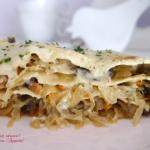 Lazania (lasagne) z...