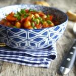 Ciecierzyca z pomidorami...