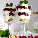 Deser jogurtowy z pestkam...