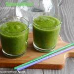 Zielony koktajl ze szpink...