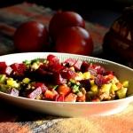 Warzywna salatka z zielon...