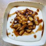 Kasza manna z karmelizowa...