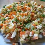 Salatka sledziowa domowa