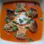 Zupa z pomidorow i papryk...