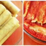 Cannelloni z miesem i pie...