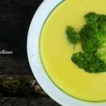 Zupa serowa z brokulem