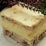 Ciasto serowo-orzechowe w...