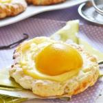 Słodkie jajeczne oczka